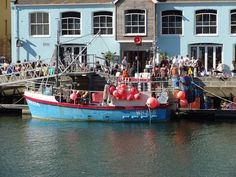 Weymouth Harbour, Weymouth, Dorset, England