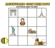 Hoy os presentamos a Bee Bot , una abeja robots para iniciar al alumnado de educación Infantil y Primer Ciclo de Primaria  en el mundo de la robótica y despertar su interés por él.Bee BotEs una abeja - robot que tiene que seguir nuestras instrucciones mediante los siguientes comandos (avanzar, retro...