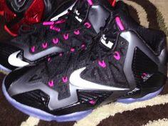 "Nike Lebron 11 XI ""Miami Nights/Carbon Fiber"" Sneaker (New Detailed Images)"