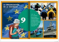 """Unidad 6 de Ciencias Sociales de 6º de Primaria: """"La organización de España"""""""