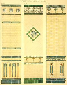Laurelhurst Craftsman Bungalow: Minton Tile 1909 catalog