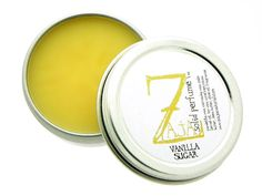 Vanilla Sugar Solid Perfume by ZAJA Natural - 1 oz >>> Hurry! Check out this great item : Travel Perfume and fragrance