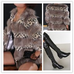 Black Ladies Solid Color Slim Thick Heel Knee High Boots