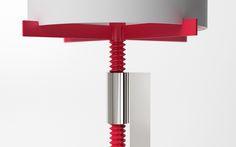 Screw Me lamp by Jonathan Rowell wall lamp table lamp floor lamp