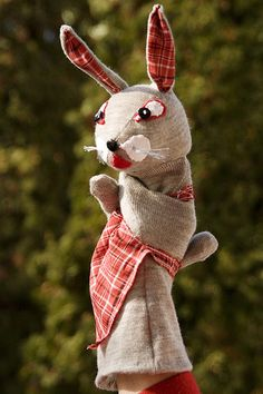 Bunny Hand Puppet | by Handmade Goodies