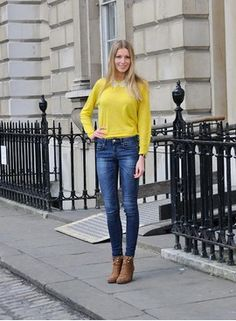 yellow&jeans