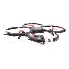 Der neue zoopa Q410 Movie ist mit der neuesten Gyro- Technologie, hochpräziser Elektronik, einem starken Akku und der FlyCamOne Nano Kamera für Foto-und Videoaufnahmen ausgestattet.  Die integrierte 6- Achsen- Gyro 2.0 Technologie garantiert perfektes Fliegen auf jeder Fähigkeitsstufe.
