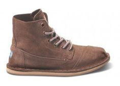 Brown Suede Women's Tomboy Boot | TOMS.com