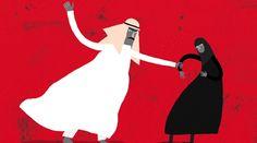 Donne saudite contro il sistema di sorveglianza maschile