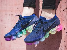 Chaussure Nike Air Vapormax Flyknit Be True Rainbow (arc-en-ciel) (1)
