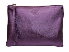 The clutch bag is small and chic, carried in the hand. Clutch Bag, Amethyst, Metallic, Essentials, Product Launch, Purses, Clutches, Bags, Handbags