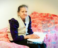 Old Woman Stock Photo
