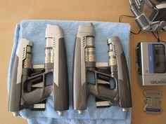 starlord gun   Star Lord Blasters, Nerf Gun Modification