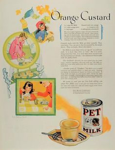 ~minute Gelatine Tapioca Co Mass. Orange f4 Antique 1908 Ad