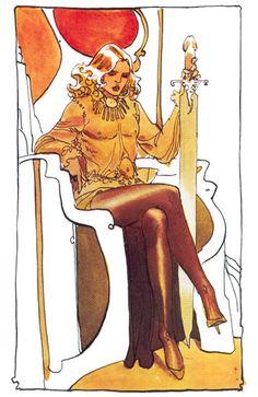 Sci-Fi Art: concept art by Moebius, for Jodorowsky's Dune Jean Giraud, Jodorowsky's Dune, Dune Art, Character Inspiration, Character Art, Art Science Fiction, Moebius Art, Serpieri, Jordi Bernet
