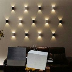 Lights For Living Room Wall : Details About Led Wall Lamp Hall Porch Walkway Bedroom Pertaining To Lights For Living Room Wall Lights for Living Room Wall Porch Lighting, Bedroom Lighting, Home Lighting, Modern Lighting, Lighting Design, Wall Lighting, Modern Lamps, Industrial Lighting, Modern Wall Decor