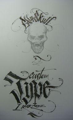 Calligraphy Types XI