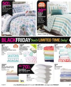 Bealls Florida Black Friday 2017 Ads and Deals Browse huge deals and savings as part of the Bealls Florida Black Friday 2017 sale. Find the cheapest prices of the year on everything from fashion fo. Black Friday 2017 Ads, Queen Quilt, Quilt Sets, Comforter Sets, Coupons, Florida, Pillows, Decor, Fashion
