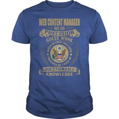 Web Content Manager - We Do Precision Guess Work #gift #ideas #Popular #Everything #Videos #Shop #Animals #pets #Architecture #Art #Cars #motorcycles #Celebrities #DIY #crafts #Design #Education #Entertainment #Food #drink #Gardening #Geek #Hair #beauty #Health #fitness #History #Holidays #events #Home decor #Humor #Illustrations #posters #Kids #parenting #Men #Outdoors #Photography #Products #Quotes #Science #nature #Sports #Tattoos #Technology #Travel #Weddings #Women