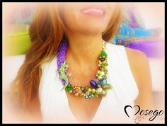 COLLARES ANIMALS #necklace #collar #bisuteria #bijoux ##jewelry #hechoamano #handmade #rhinestone #swarovski #exclusive #unico #fallwinter #gecko ##preciosavane #withlove  www.mosego.com  info@mosego.com