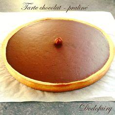 Tarte chocolat - praliné