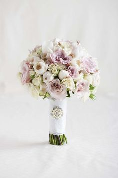 Ultra Feminine Bridal Bouquets