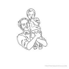 Free Printable Baby Stencil R