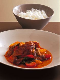 Neil Perry: Red curry of duck and pineapple.