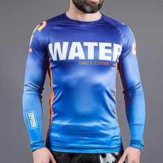 "NJ FIGHT SHOP - Scramble x Sakuraba ""WATER"" Rash Guard, $59.99 (http://www.njfightshop.com/scramble-x-sakuraba-water-rash-guard/)"