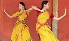 Bijayini Satpathy and Pavithra Reddy of the Nrityagram dance ensemble (Karnataka, India)