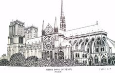 Notre Dame Cathedral (Paris, France)