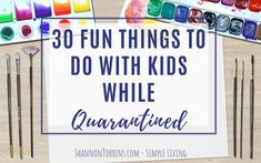30 Fun Things to do with kids while in quarantined.   Have fun with your kids while you are at home.. they will love it!!!! Things To Do When Bored, Things To Do At Home, Fun Things, Creative Things, Baby Things, Kids Activities At Home, Quiet Time Activities, Babysitting Activities, Fun Sleepover Ideas