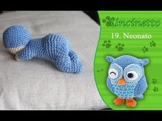 Tutorial: amigurumi, bimbo che gattona - YouTube