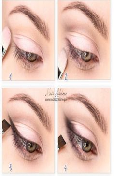1,2,3,4 eye enlarging makeup
