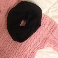 Pink Knit Sweater Pink Knit Sweater | gently worn, once | size: small Tops Sweatshirts & Hoodies