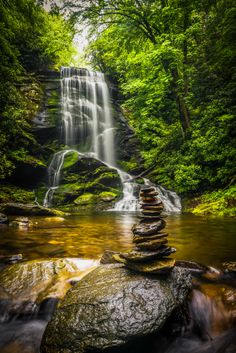 Photo Upper Catabwa Falls by Serge Skiba on 500px