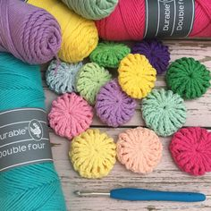 Visit our Sundaystitch board for more inspiration and tutorials. Cylinder Shape, Decoration, Vintage Looks, Cloths, Knit Crochet, Dish, Tutorials, Throw Pillows, Stitch