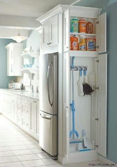 Other organization ideas for the kitchen.