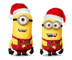 Mary Christmas from the minions