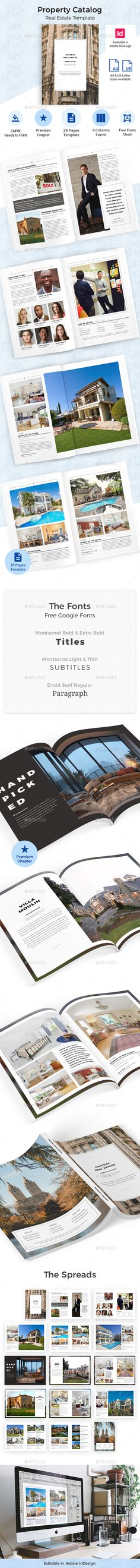 Photoshop Brochure Template for Hotel 52 Pages \ Covers Pages - hotel brochure template