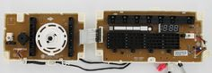 #LG #EBR74783101 Laundry Dryer Touch Pad Board
