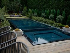 Looking for Outdoor Space and Swimming Pool ideas? Browse Outdoor Space and Swimming Pool images for decor, layout, furniture, and storage inspiration from HGTV. My Pool, Swimming Pools Backyard, Swimming Pool Designs, Backyard Landscaping, Pool Decks, Landscaping Ideas, Pool Spa, Patio Ideas, Outdoor Ideas