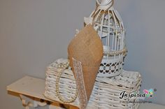 10 x Cone Pew Church Bow White Lace Rustic by inspiredcompany4u