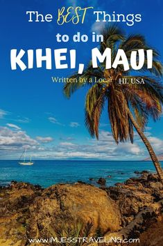 Check out the top 20 things to do in Kihei, Maui. You won't want to miss out on these things when you expereince Maui's South shore. Written by a local. | Maui travel | Hawaii travel | Things to do in Maui | Hawaii Travel, Mexico Travel, Hawaii Honeymoon, Usa Travel Guide, Travel Usa, Travel Guides, Best Beaches In Maui, Pearl Harbor, Whale Watching Tours