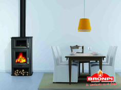 Estufa de leña Bronpi Tudela |  Bronpi wood stove Tudela | Poêle à bois Bronpi Tudela | Stufe a legna Bronpi Tudela | Salamandra de Lenha Bronpi Tudela | Σόμπες ξύλου Bronpi Tudela Stove, Home Appliances, Lighting, Home Decor, Firewood, Wood Burning Fireplaces, Wood Stoves, Houses, Home