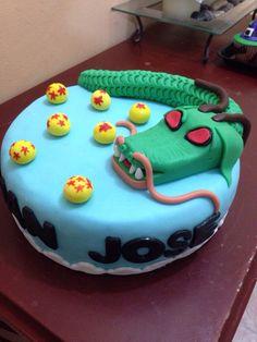 Torta dragón ball z en fondant