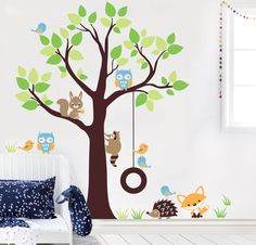 Vinilos decorativos - Myvinilo® Colombia into the woods - Infantil