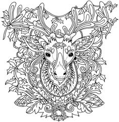 Christmas Coloring Book A Stress Management Coloring Book For