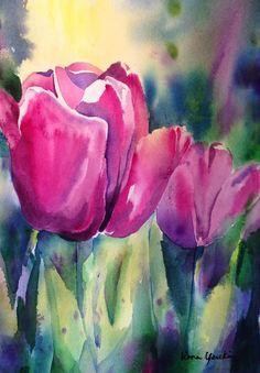 Die 94 Besten Bilder Von Tulpen In 2019 Flower Art Frames Und Canvas