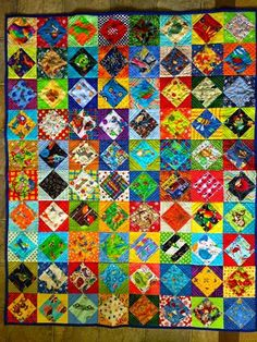 I Spy quilt on CurlsandQ.com